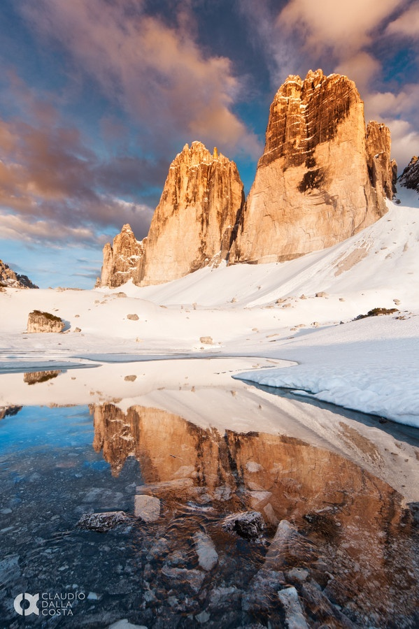 "500px / Photo ""Tre Cime"" by Claudio Dalla Costa"