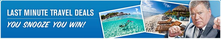 Last Minute Travel Deals - You Snooze You Win