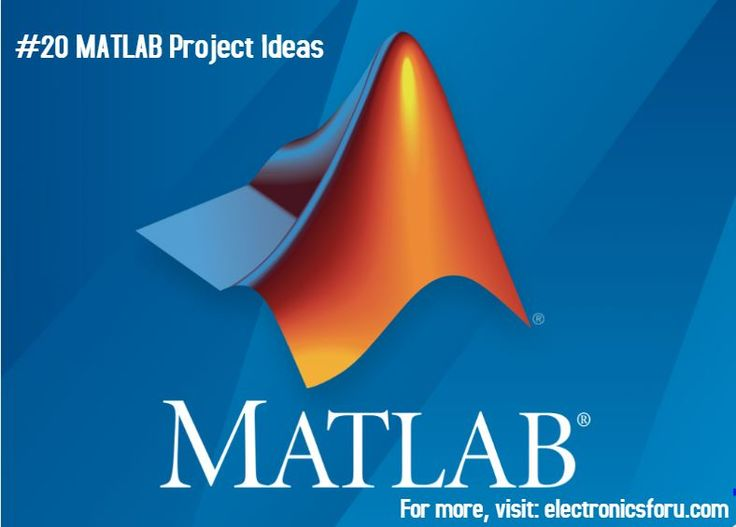 This list of 20 MATLAB projects ideas should be the ideal solution for people looking to put their minds to use. Interest in MATLAB is a plus.