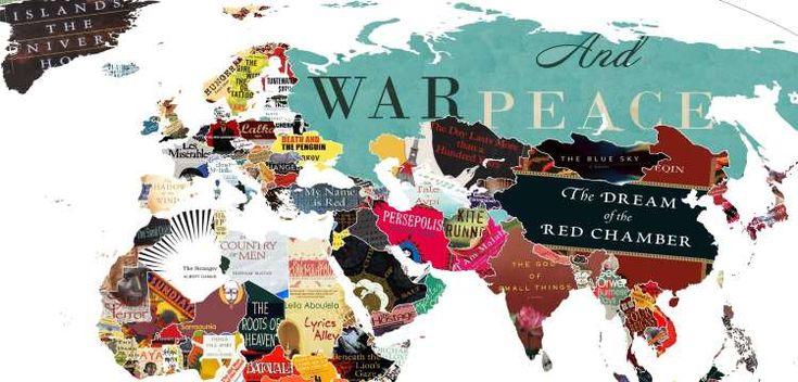 «Λογοτεχνία του Κόσμου»: Ο παγκόσμιος χάρτης της λογοτεχνίας! via @enalaktikidrasi
