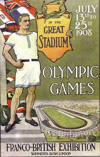 1908 Olympic Games - London, England.  It is quite possible that the Earl of Grantham and/or one or more of  of this family attended the 1908 Olympics.