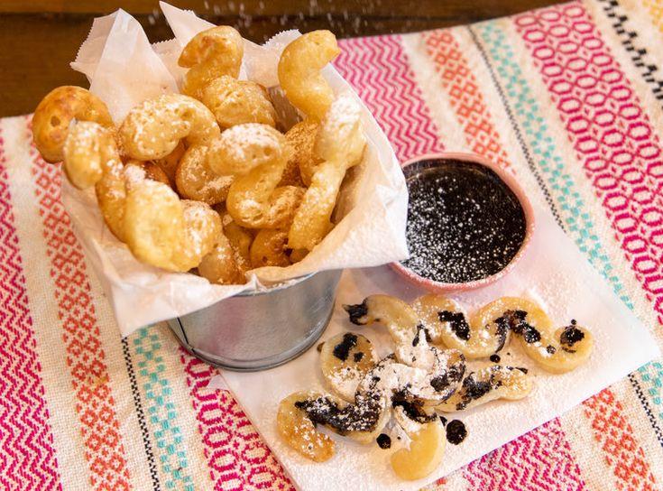 Dip Vegan Fried Dough Dippers (papas fritas)