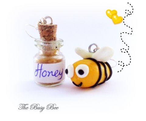 Buzzzzzz   myartshop ΣΚΟΥΛΑΡΙΚΙΑ Bee And Honey...