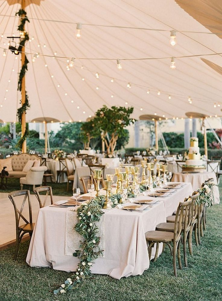 decorating ideas for outside wedding ceremony%0A Best     Romantic backyard ideas on Pinterest   Wedding ideas without  family  Backyard lights diy and Romantic pictures gallery