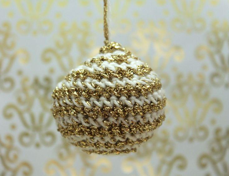 #tutoriel #DIY : Boules de #noel au crochet
