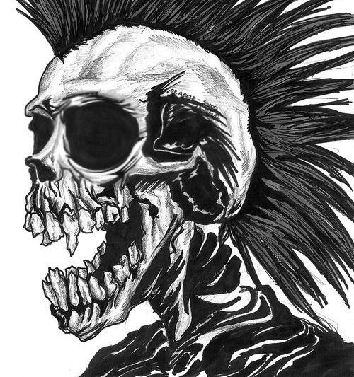 23 best images about Skulls on Pinterest   Zombie tattoos ...
