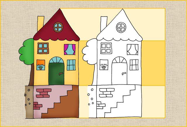 Zeilenhaus für die Einführung der Zeilen