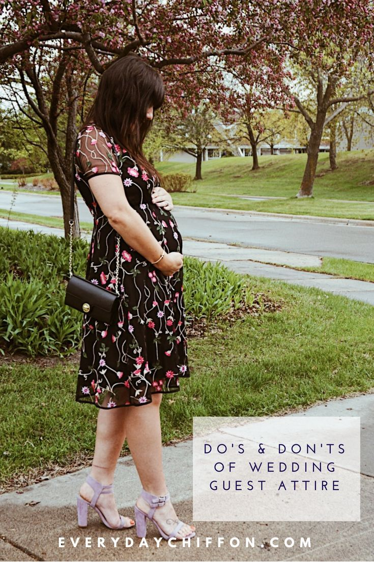 Pregnant wedding dress fail  Dous and Donuts of Wedding Guest Attire  Everyday Chiffon