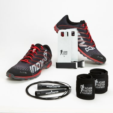 Again Faster - Equipment for CrossFit - Inov-8 Athlete Pack - F-Lite 195 Grey/Red (MEN'S)