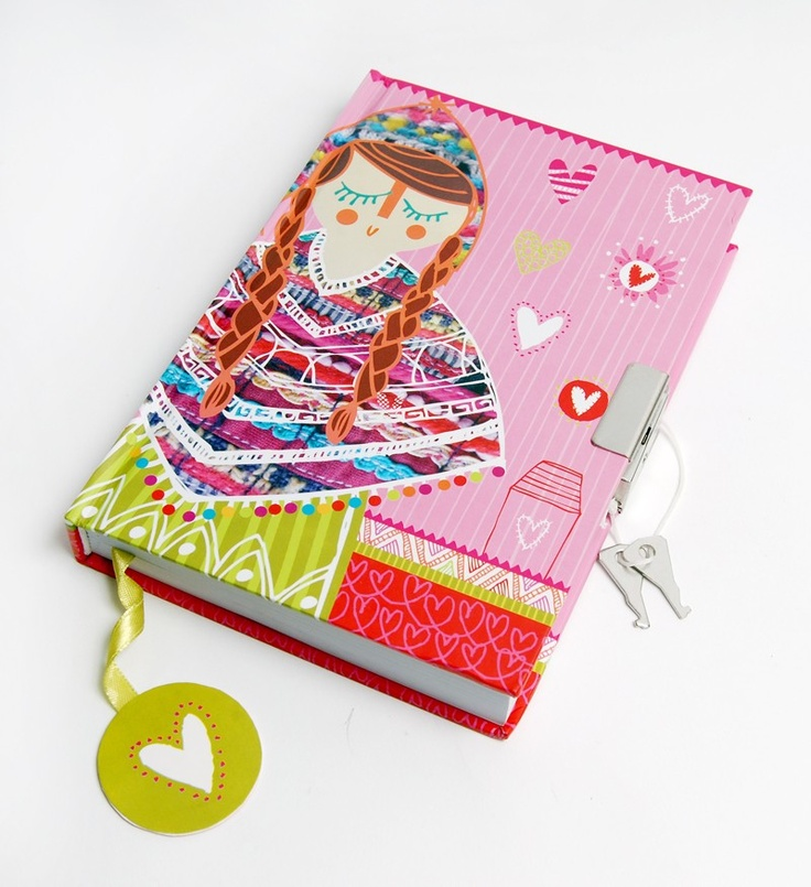 Secrets Lined Hardcover Notebook - Hannah