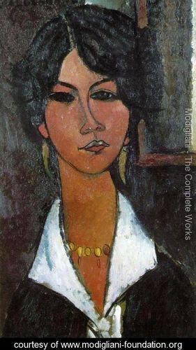 Woman of Algiers - Amedeo Modigliani - www.modigliani-foundation.org