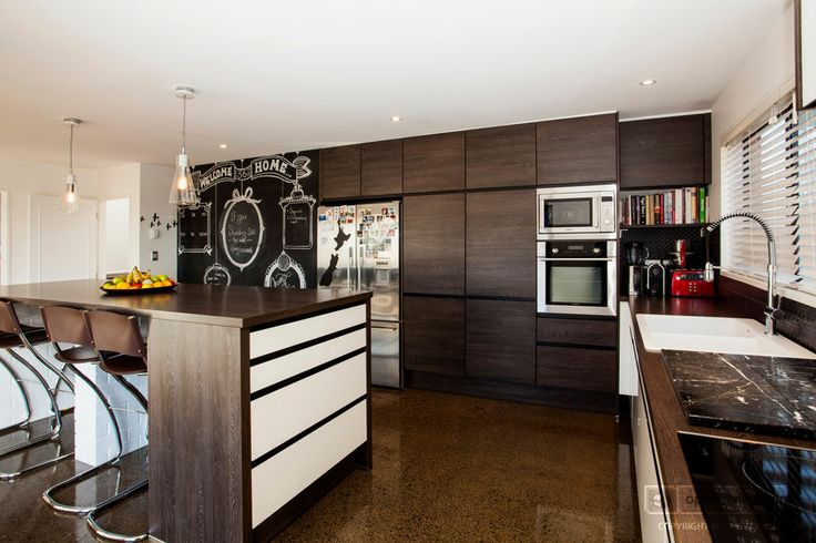 Kitchen imported from Germany, with soft-close drawers and appliances by Blanco and Scholtes.