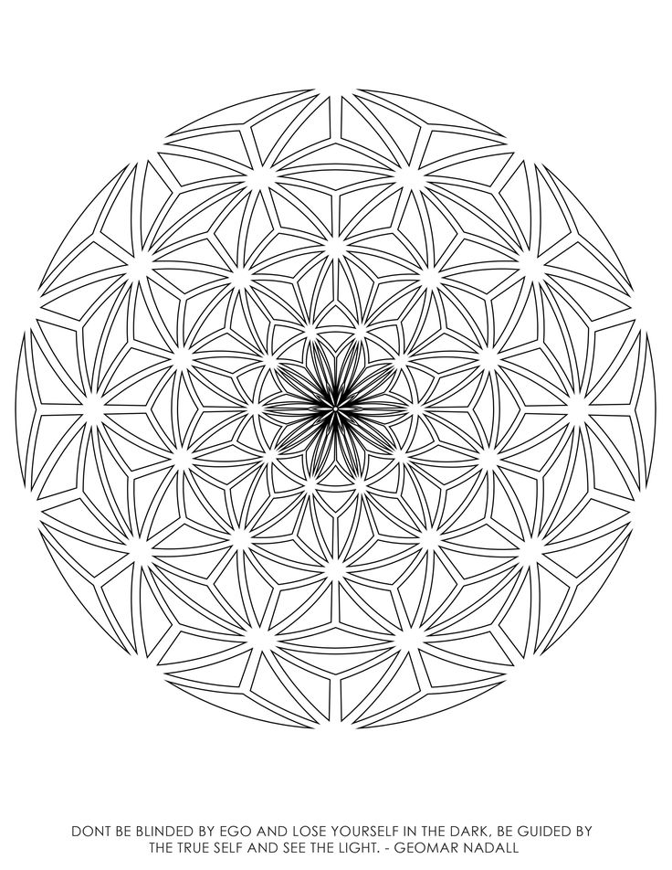 sacred geometry coloring book illustrations by rooz kashani this sacred geometry coloring book contains 40 - Sacred Geometry Coloring Book