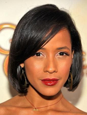 "10"" Bob Wigs African American Wigs The Same As The Hairstyle In The Picture - Human Hair Wigs For Black Women"