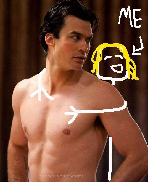"""Can You Guess The Shirtless """"Vampire Diaries"""" Star?"""