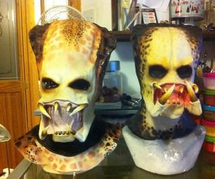 how to make a latex mask mold