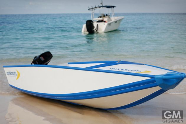Quickboat (クイックボート)は超クイック4人乗りモーターボート