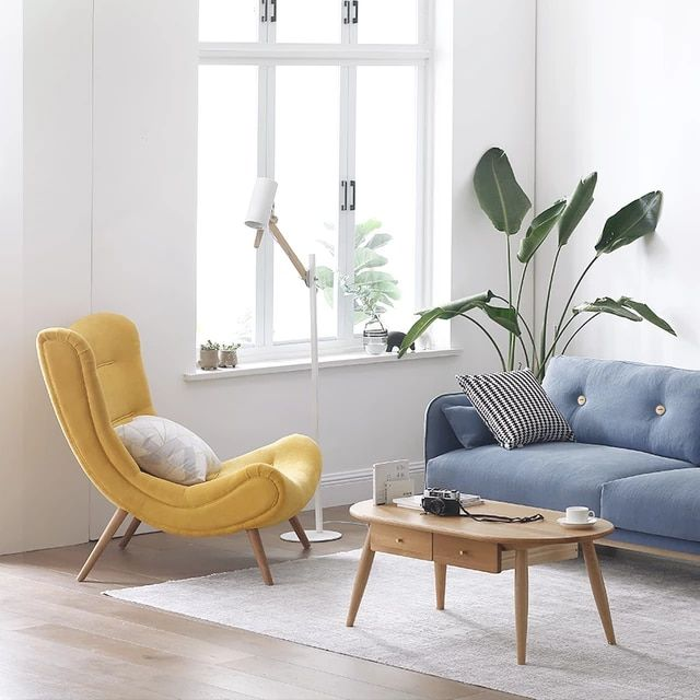 Louis Fashion Single Sofa Nordic Style Living Room Furniture Pink Small Snail Chair Modern Simple In 2021 Nordic Style Living Room Living Room Sofa Living Room Chairs