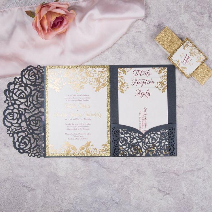 The 119 best Faire part mariage romantique et chic images on Pinterest