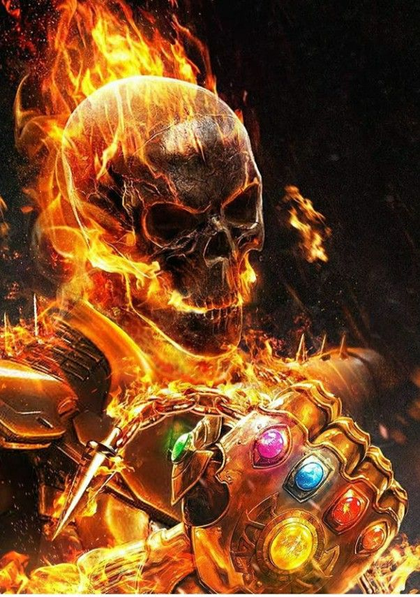 Pin By Ivannis Blazis On Wallpapers Ghost Rider Marvel Marvel Comics Wallpaper Ghost Rider Wallpaper