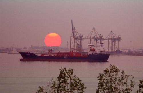 Thessaloniki, in the port