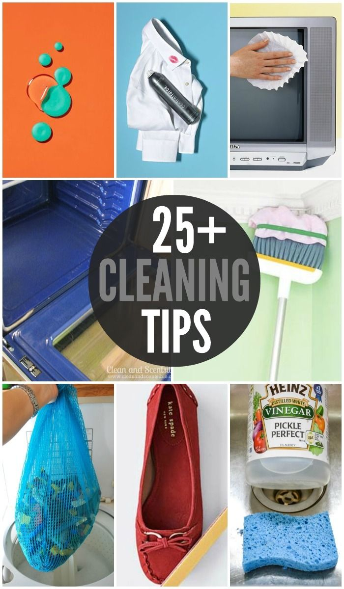 25+ Cleaning Tips - Lil Luna - All Things Good