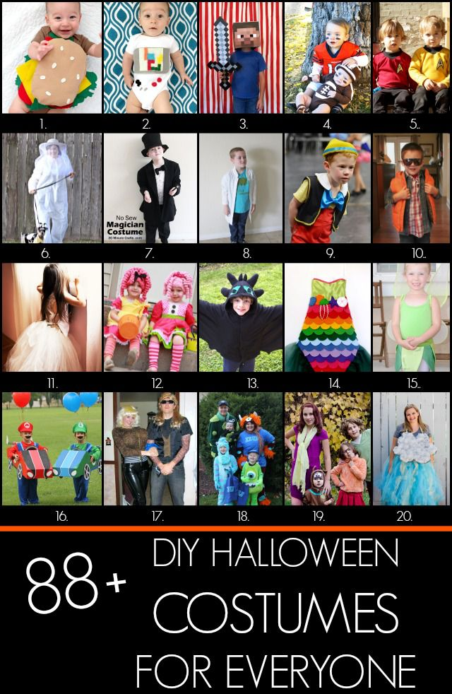 Easy Tinkerbell Costume and 88+ more easy DIY costume ideas for your entire family! #halloweencostumes