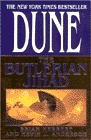 The Butlerian Jihad, by Brian Herbert & Kevin J. Anderson ~ Set 10,000 years before the events of Dune, this first book in the Legends of Dune prequel trilogy tells the story of the birth of houses Harkonnen and Atreides and the beginning of the end of the sentient machines. Arrakis and its mythos are setup here, but only very peripherally. The characters are not particularly well done, but the story line is solid and interesting.