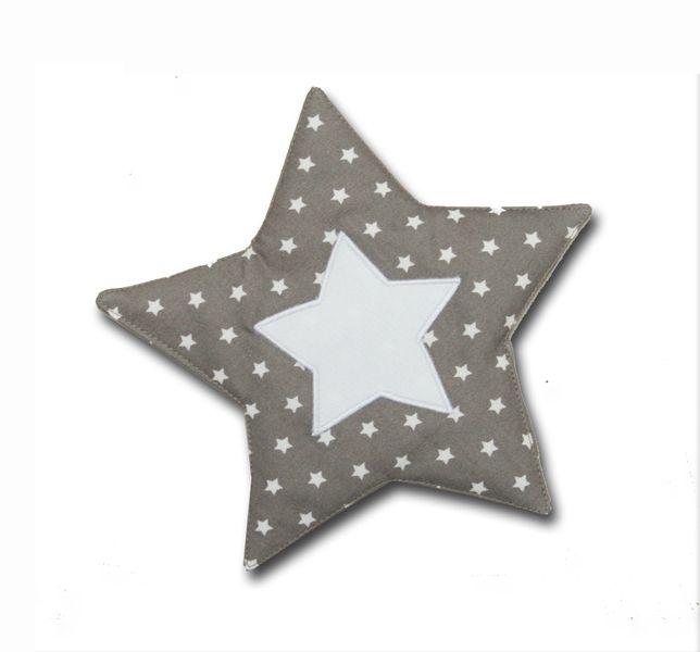 Knistertuch in taupe mit Sternchen von Blausberg Baby auf DaWanda.com