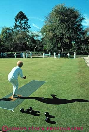Lawn Bowling. I'm learning this game. It's relaxing and you have a lot of time to talk.