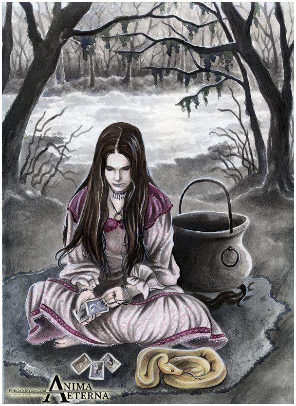 The Witch of Endor by AnimAEterna.deviantart.com on @deviantART