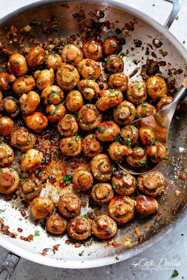 Knoblauchpilze – YUM ~ Gesunde Rezeptideen | Essen und Trinken | Abendessen | Küken…   – Healthy Recipes Ideas