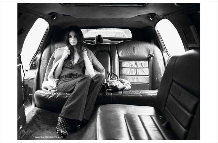 Fashion Editorial By Sara Zorraquino  #Magazine #Calle20 #stylist HugoLavin #photo #Spain #Madrid #street #love #Car #make-up PitiPastor #car #limousine