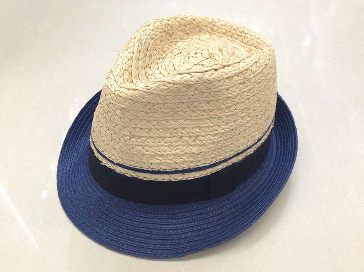 UVカット麦わら帽 可愛い帽子 夏帽子 春ハット  ペーパーのハット中折れ帽子 UVハット帽子 快適なハット  バカンス 帽子 ハット ラフィア+ペーパー