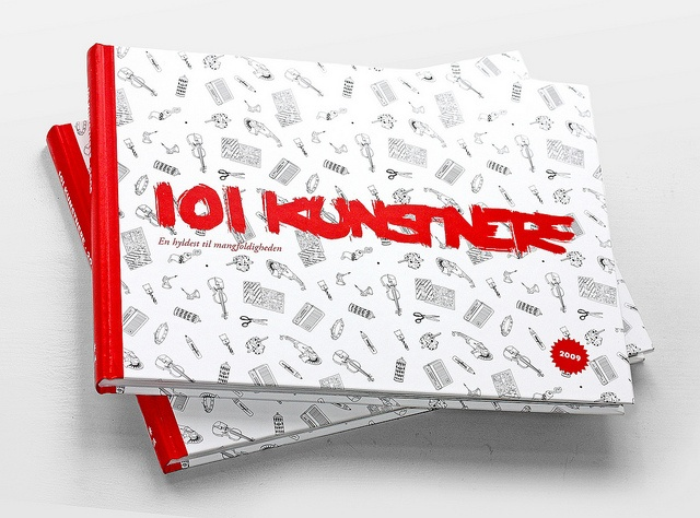 101 Artists Book Cover: http://www.whatwedo.dk/?case=101kunstnere