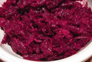 tsvikly: From Ukraine: Beet-Horseradish Relish | A Gardener's Table