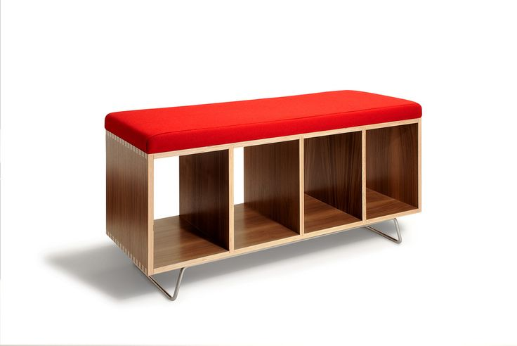 Bench Box with LegsIdeas, Caster, Red, Benches Storage, Benches Boxes, Mud Room, Bookcas, Offie Benchbox, Furniture