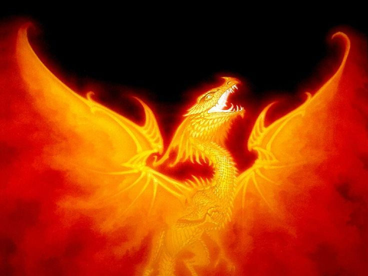 The Phoenix - by Den Beauvais | Featured Artist on the Fantasy Gallery