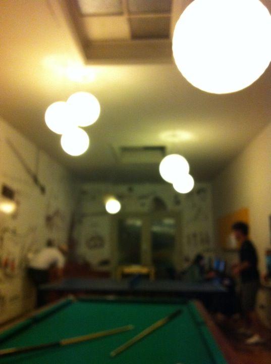 Che Lagarto Hostel in Santiago de Chile, Metropolitana de Santiago de Chile.  es muy barato y un poco sucia. está abierto toda la noche