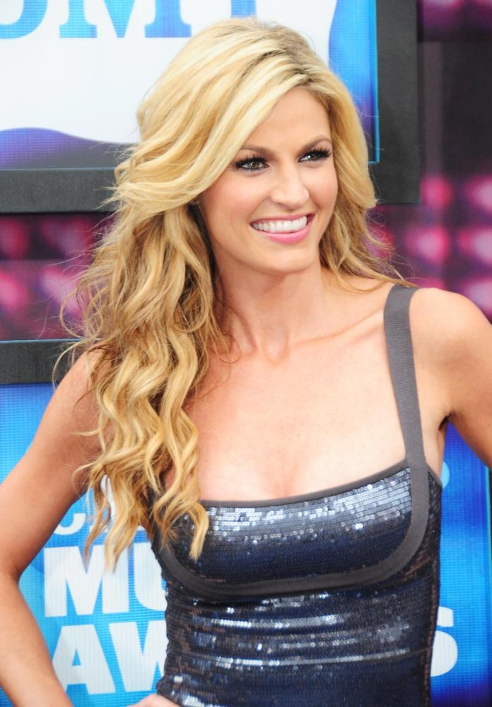 Erin Andrews, ESPN's college game day sportscaster. She has my DREAM job!