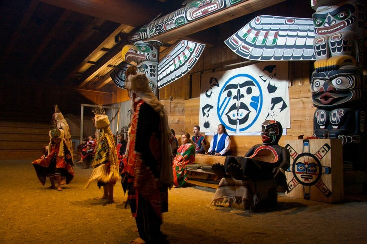 The #Bighouse in Alert Bay, British Columbia, near the U'mista Cultural Centre. #AboriginalBC http://aboriginalbc.com/members/umista-cultural-centre/