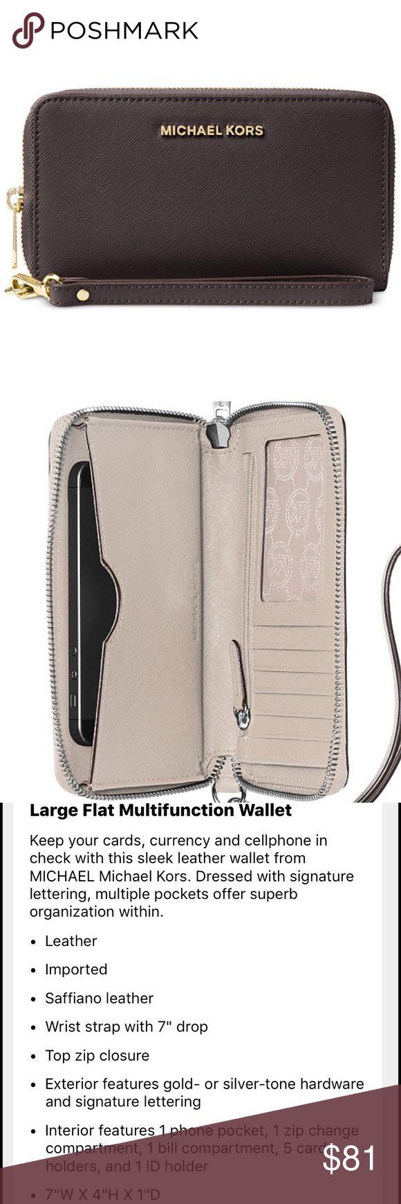 b6550bced78e Michael Kors Handbag, Fulton Medium Shoulder Bag This might be it Web ID michael  kors jet set wallet silver ...