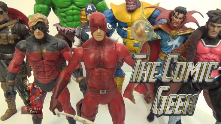 Daredevil - Marvel Select Toy Figure Review
