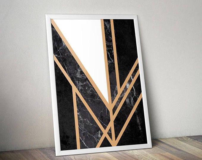 Time to decorate! - Illustrated Art Print by Genesis Alvarez of Gabellare.  Art Deco Print | Abstract Prints | Geometric Print | Poster | Poster Art Prints | Poster Artwork | Home Decor | Deco Prints | Art Print
