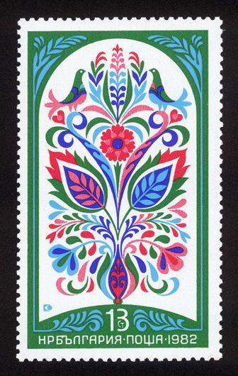 postage stamp illustration ~ Ste