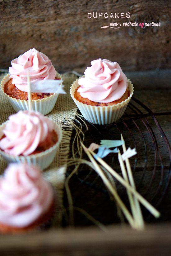 Rødbedecupcakes – Cupcakes med rodfrugter – The Food Club