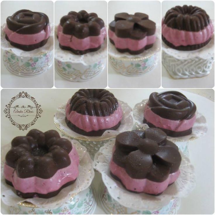 Raw Raspberry Cream Filed Chocolate By Almha Rhais