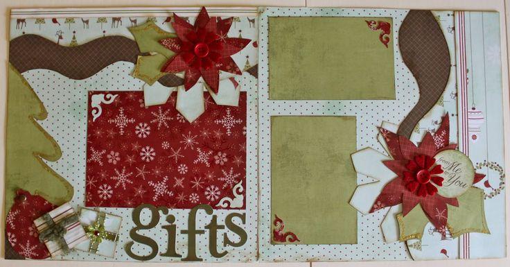 kiwi lane designs | Kiwi Lane: Christmas Pre-made page Giveaway