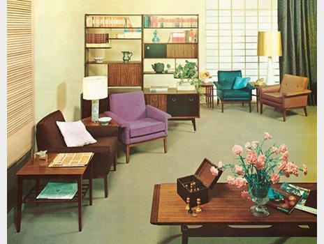 Retro Furniture: G Plan Room Setting From 1962