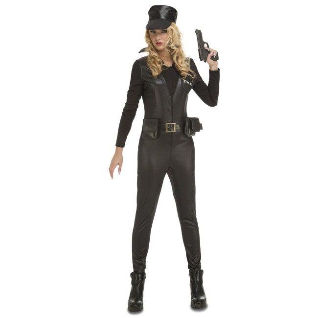 Disfraz de Policía SWAT para mujer #disfraces #carnaval #novedades2017